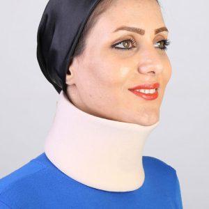 گردنبند طبی چانه دار