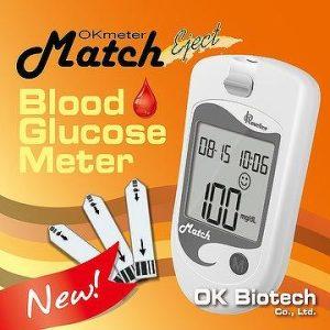 دستگاه تست قند خون match