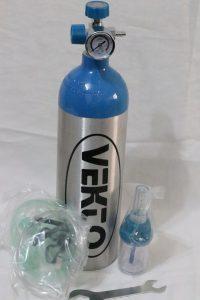 کپسول اکسیژن 2.5 لیتری
