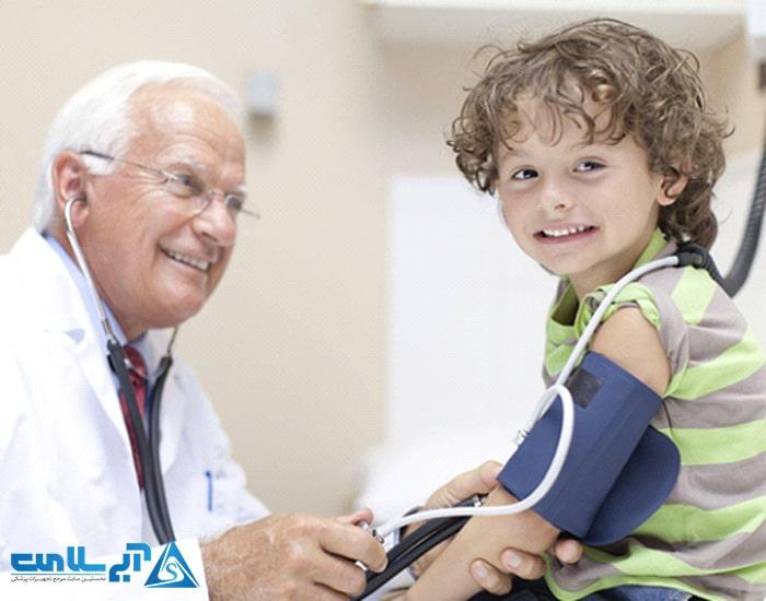 فشار خون در کودک