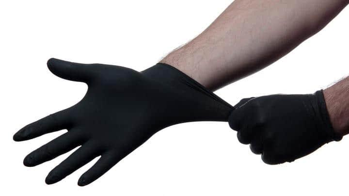 ضخامت دستکش نیتریل