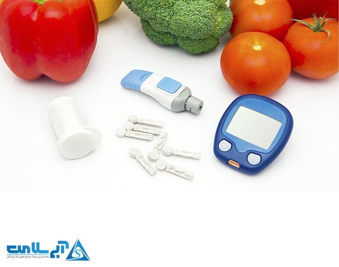 تغذیه افراد دیابتی (افراد دارای قند خون)