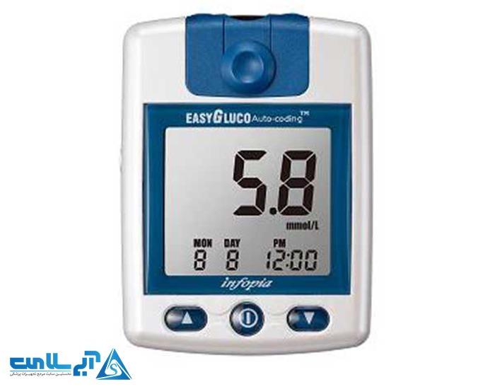 دستگاه تست قند خون ایزی گلوکو (easy gluco)