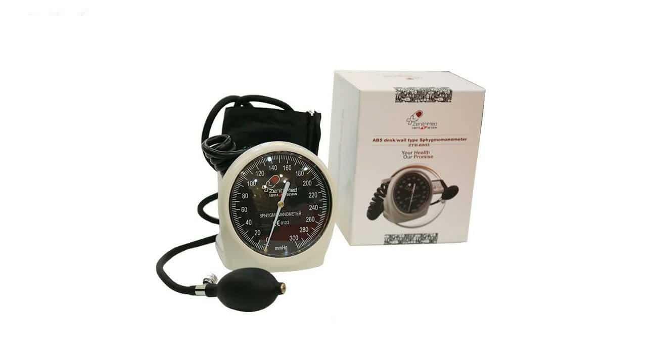 فشار سنج عقربه ای رومیزی زنیت مد مدل 6005