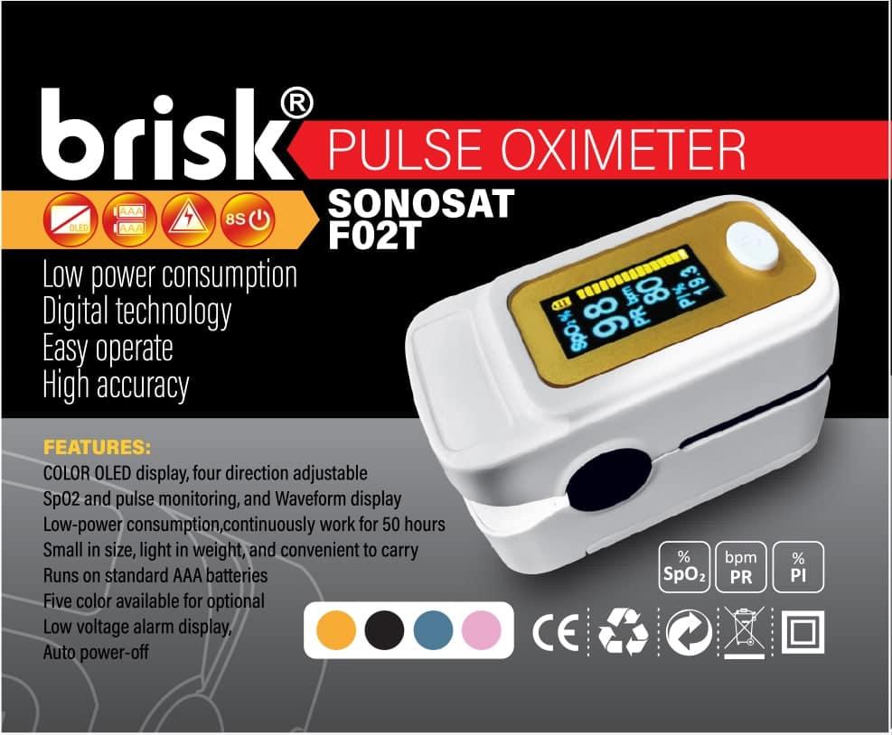 پالس اکسی متر بریسک F02T