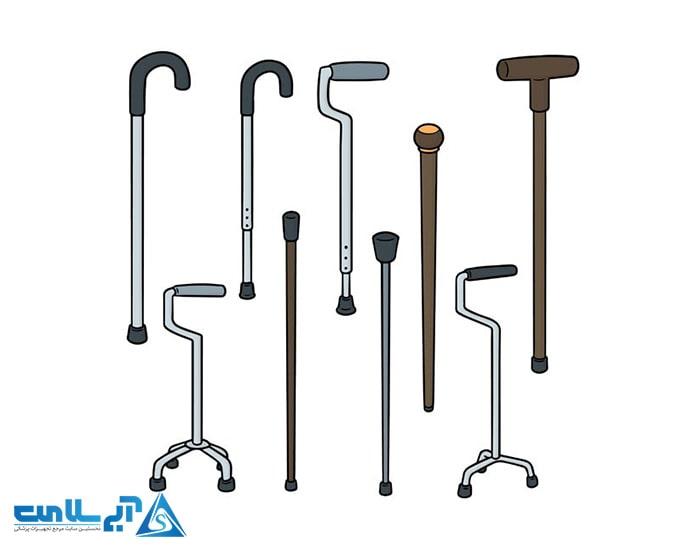 قیمت انواع عصا