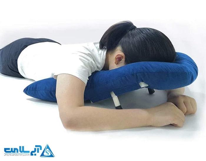 پشتی طبی خواب و بالش ستون فقرات