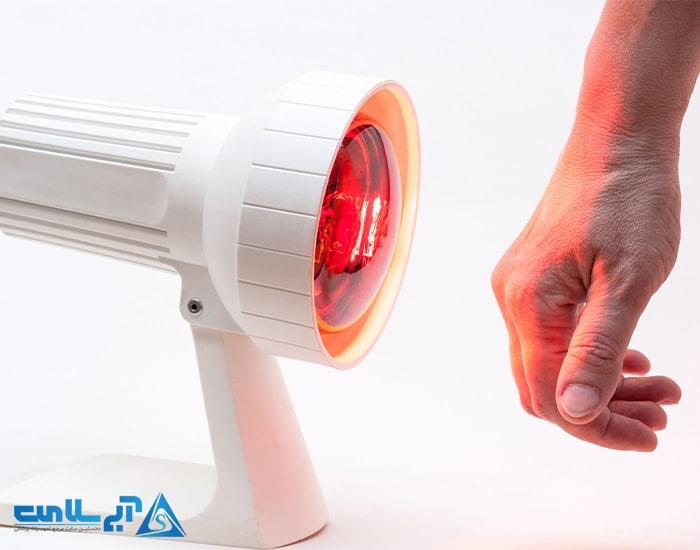 لامپ مادون قرمز چیست
