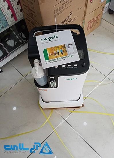 غلظت اکسیژن در بهترین دستگاه اکسیژن ساز