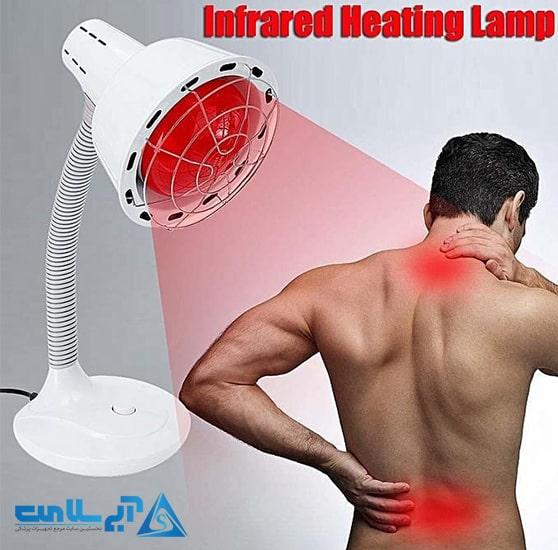 کاربرد لامپ مادون قرمز چیست