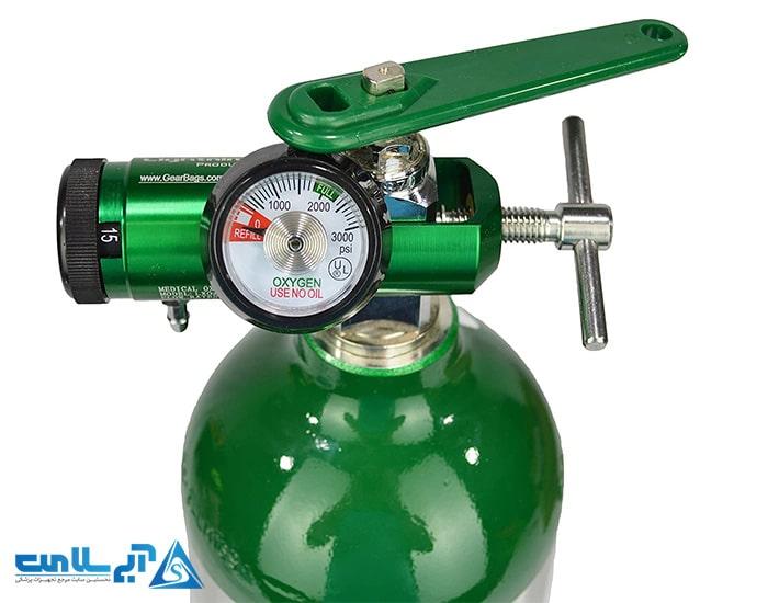 رعایت ایمنی در برابر خطرات کپسول اکسیژن